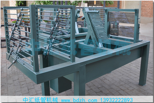 4R400-20H四机头螺旋纸管机价格-中汇纸管机械