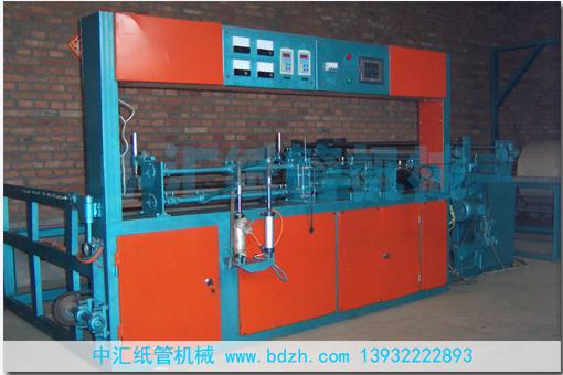 A80-8全自动数控平管机-中汇纸管机械